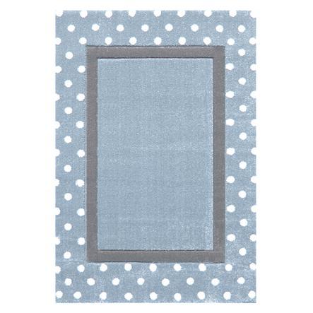 LIVONE Kinderteppich Happy Rugs Point blau/silbergrau 120 x 180 cm