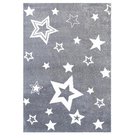 LIVONE Tæppe Love Rugs Starlight grå/hvid 100 x 160 cm