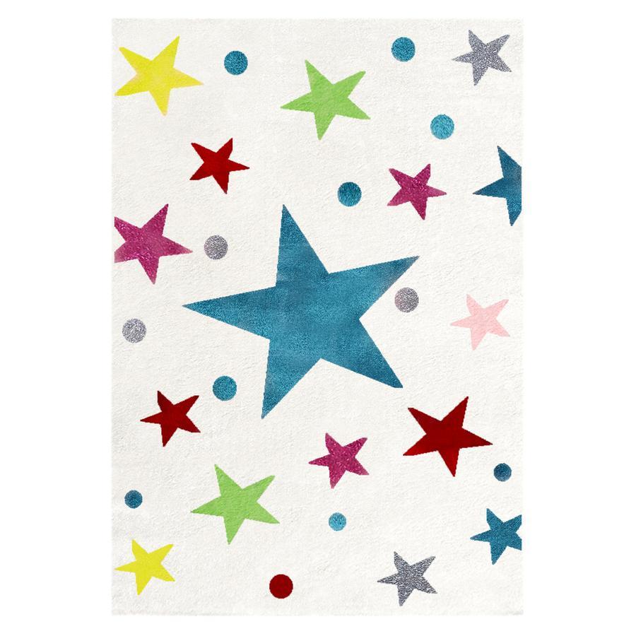 LIVONE Spiel- und Kinderteppich Happy Rugs Stars creme/multi 160 x 230 cm