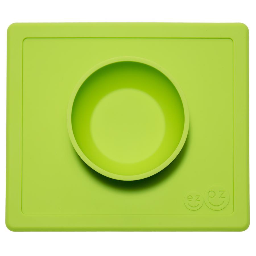 ezpz™ Happy Bowl Essmatte grün rutschfest