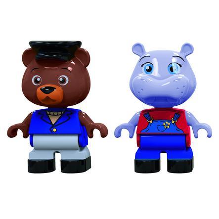 AquaPlay Figursæt Flodhest og Bjørn