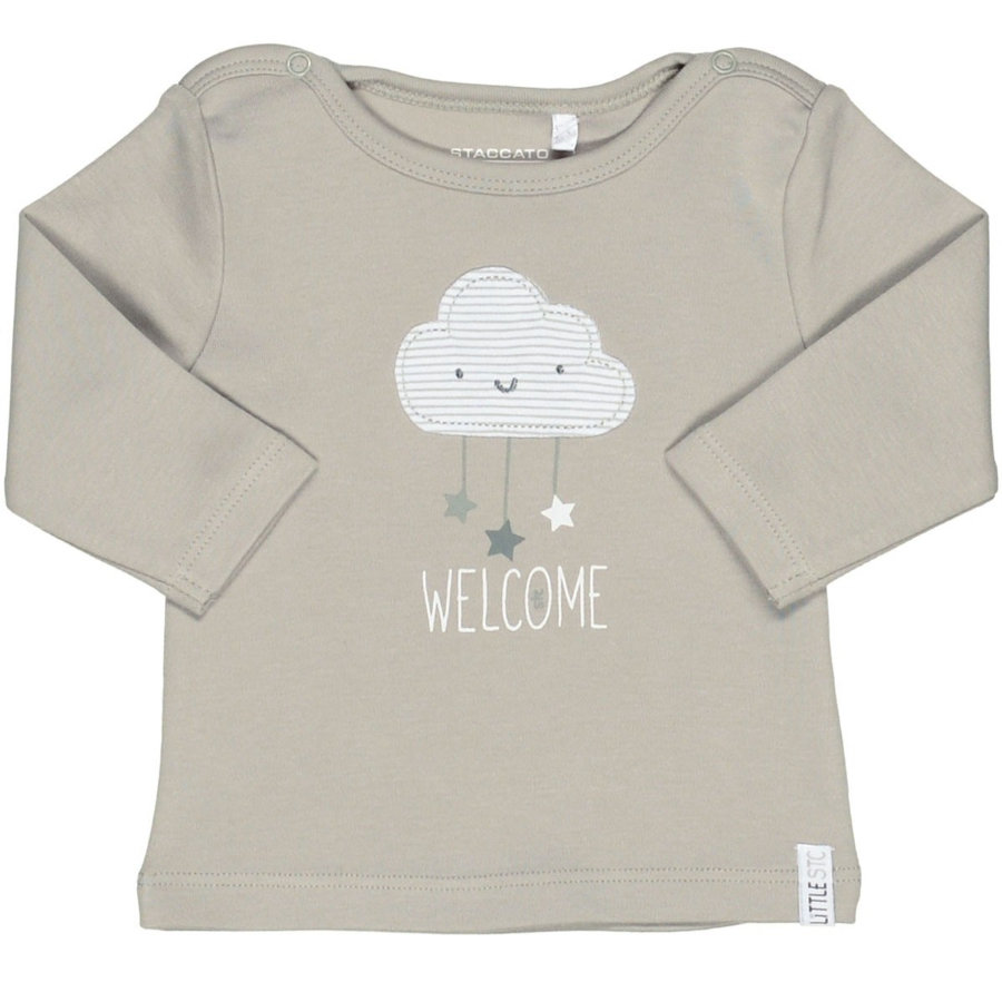 STACCATO Shirt stone grey cloud