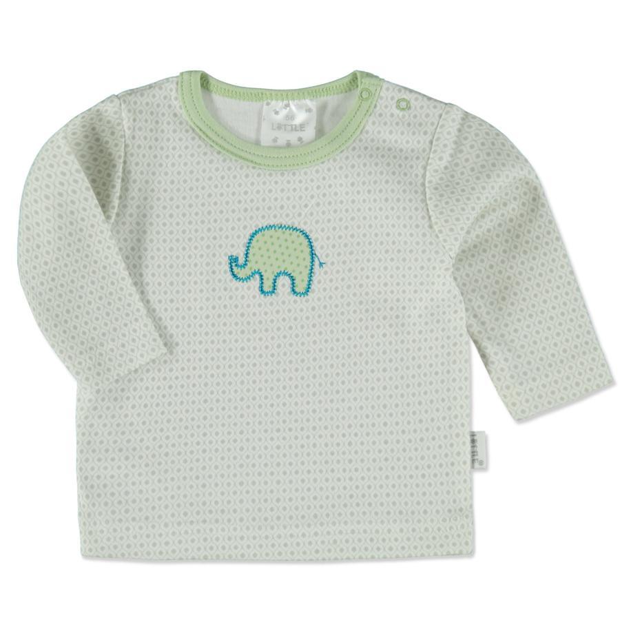 LITTLE  Košile retro šedý slon