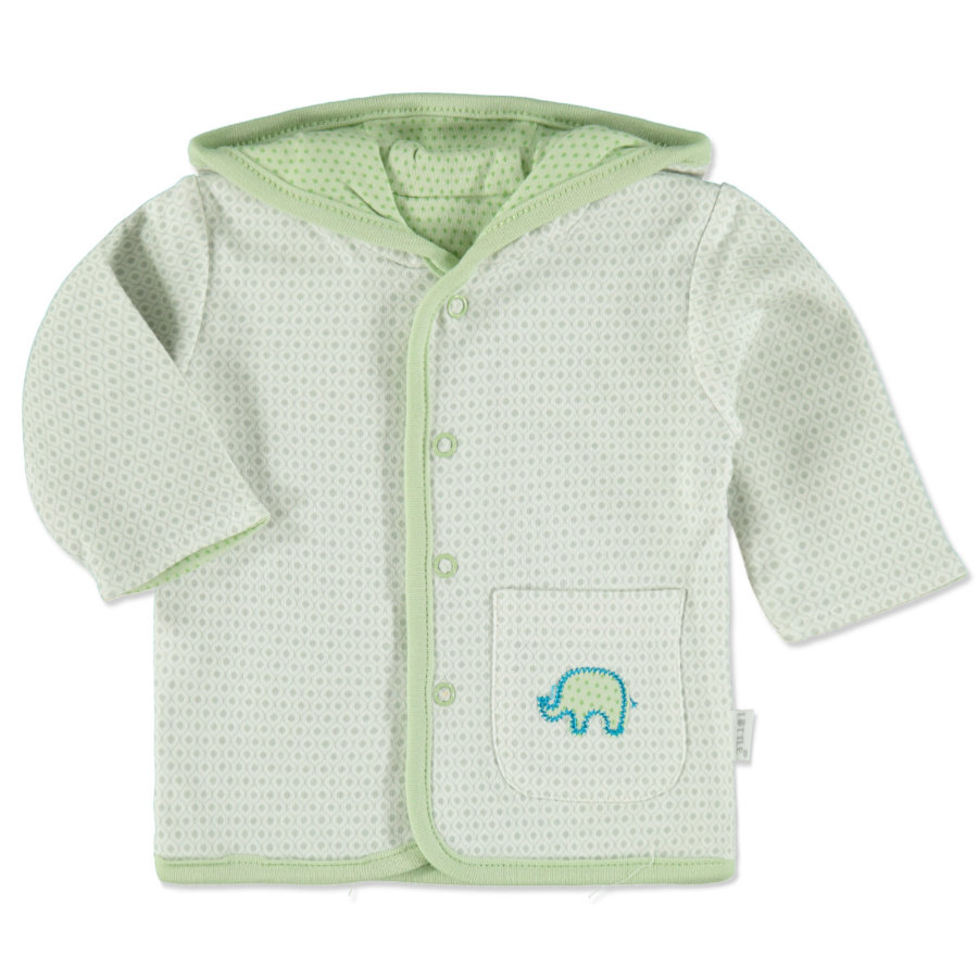 LITTLE Chaqueta reversible retro gris