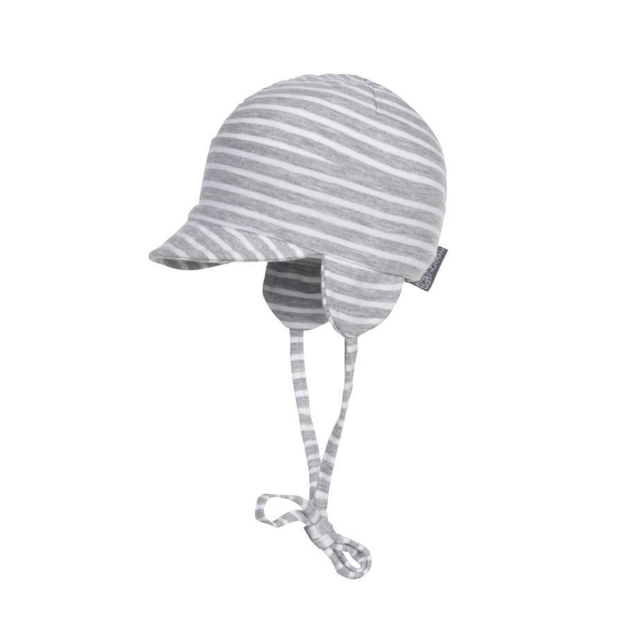 Döll Shield Cap Jersey Jasnoszary melanż w kolorze jasnoszarym