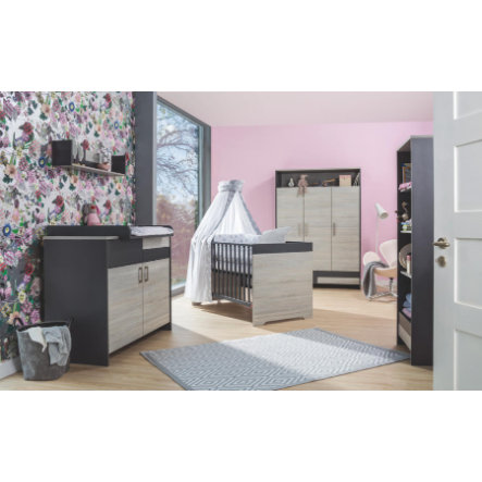 schardt chambre d 39 enfant clou armoire 3 portes. Black Bedroom Furniture Sets. Home Design Ideas