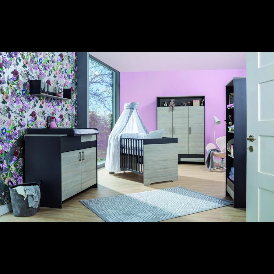 Schardt chambre d 39 enfant clou armoire 3 portes for Armoire chambre d enfant