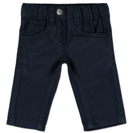 BLUE SEVEN Girls Basic Hose dunkelblau