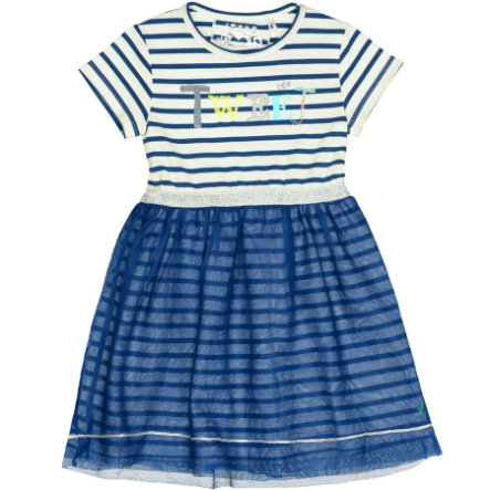 JETTE by STACCATO Girls Kleid jeans blue Streifen