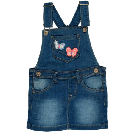 STACCATO Girls Latzrock blue denim