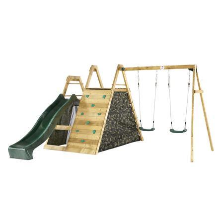 plum® Kletter Pyramide mit Doppelschaukel