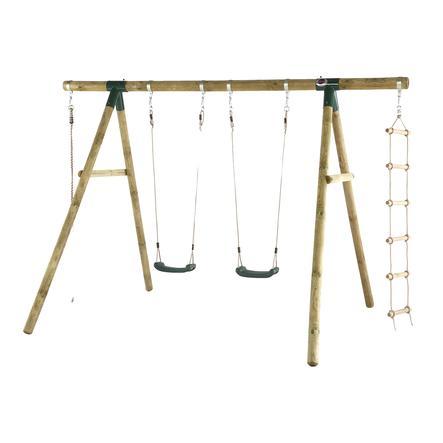 plum schommel- en klimset Gibbon van hout