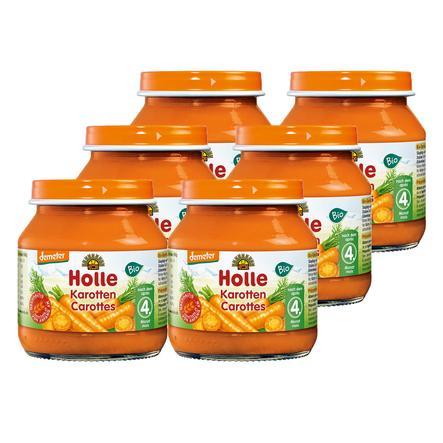 Holle Bio Karotten 6 x 125 g