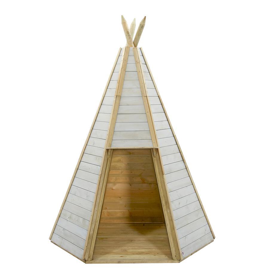 plum® Spielhaus Tipi aus Holz, 230 cm