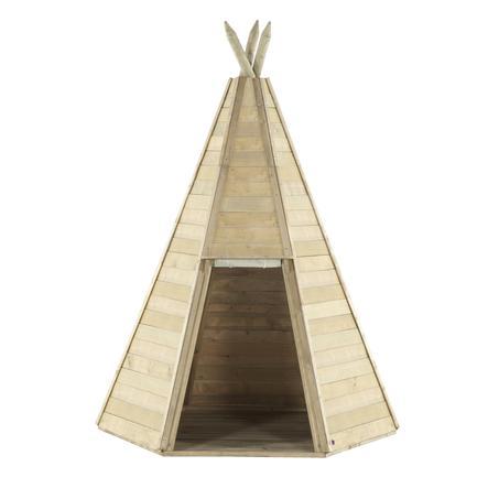 plum® Spielhaus Tipi aus Holz, 330 cm