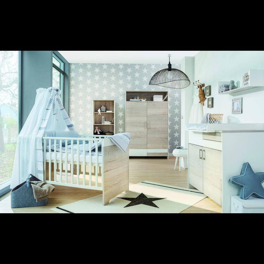 Schardt chambre d 39 enfant clou ch ne armoire 2 portes for Armoire chambre d enfant
