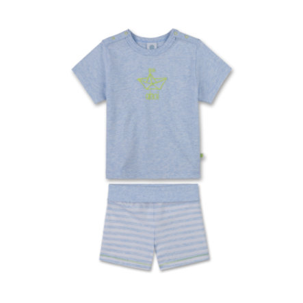 Sanetta Boys Shorty 2-teilig blue melange