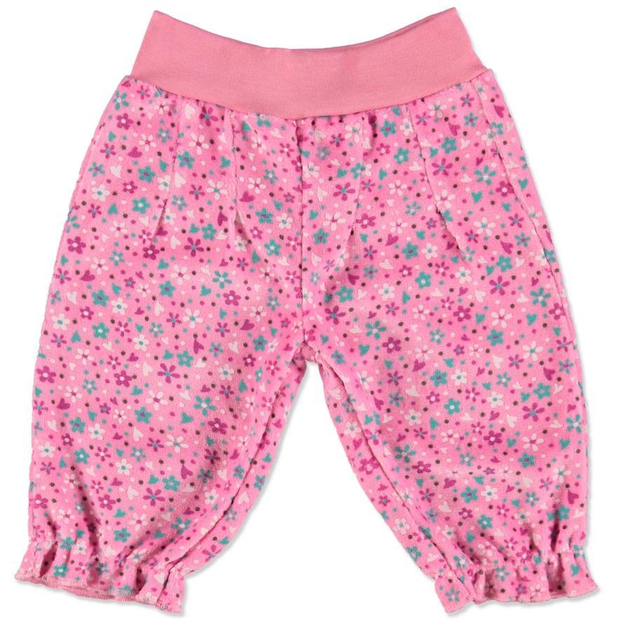DIMO-TEX Nickihose Blumen pink