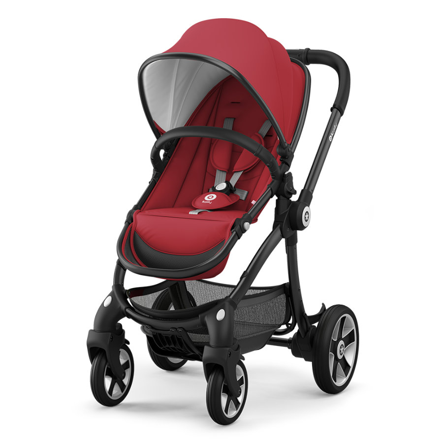 Kiddy Kinderwagen Evostar 1 Ruby Red