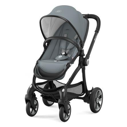 Kiddy Kinderwagen Evostar 1 Steel Grey