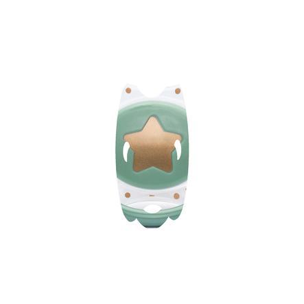 suavinex Smoczek silikonowy Couture 0-4 M Gwiazdka zielony