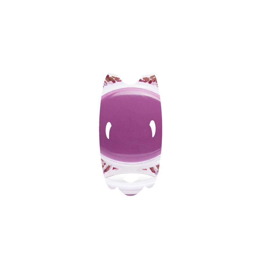 suavinex Sucette Couture, silicone, 12 M+, Fille, lilas
