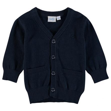 Feetje Gilet tricoté enfant bleu marine