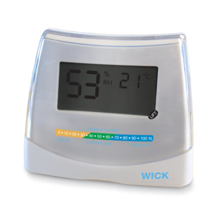 WICK 2-in 1 Hygrometer & Thermometer