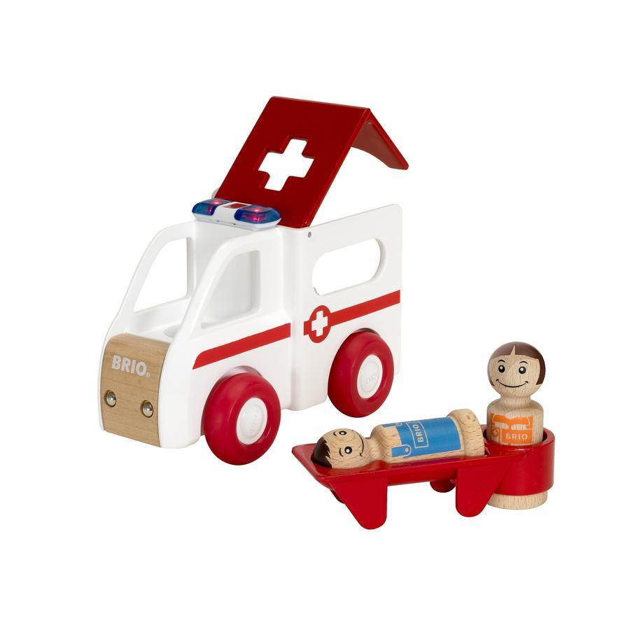 BRIO® My Home Town Krankenwagen mit Licht und Sound