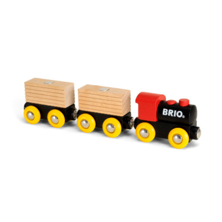 BRIO® Pociąg towarowy transportujący drewno Classic 33409