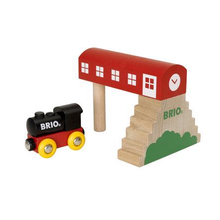 BRIO® Holzeisenbahn Bahnhof Classic 33615