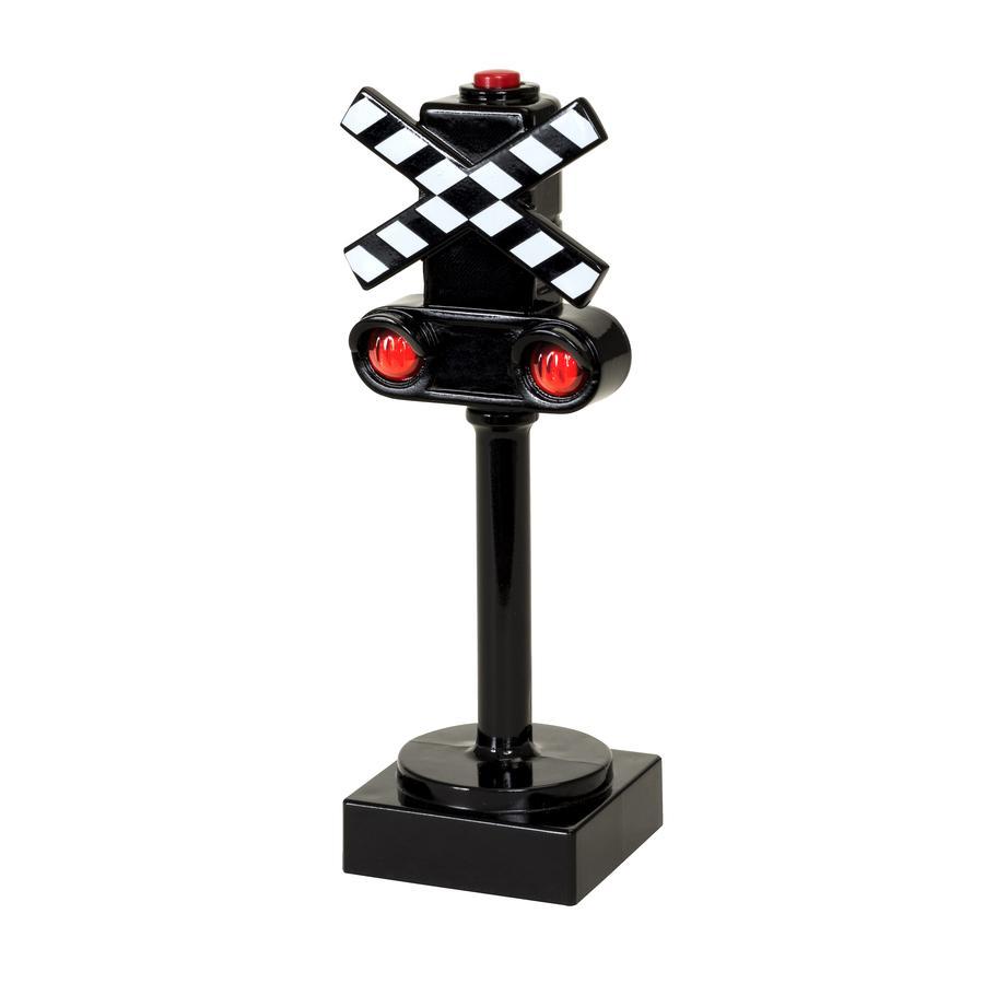 BRIO® WORLD Figurine feu de croisement lumineux pour circuit de train 33862