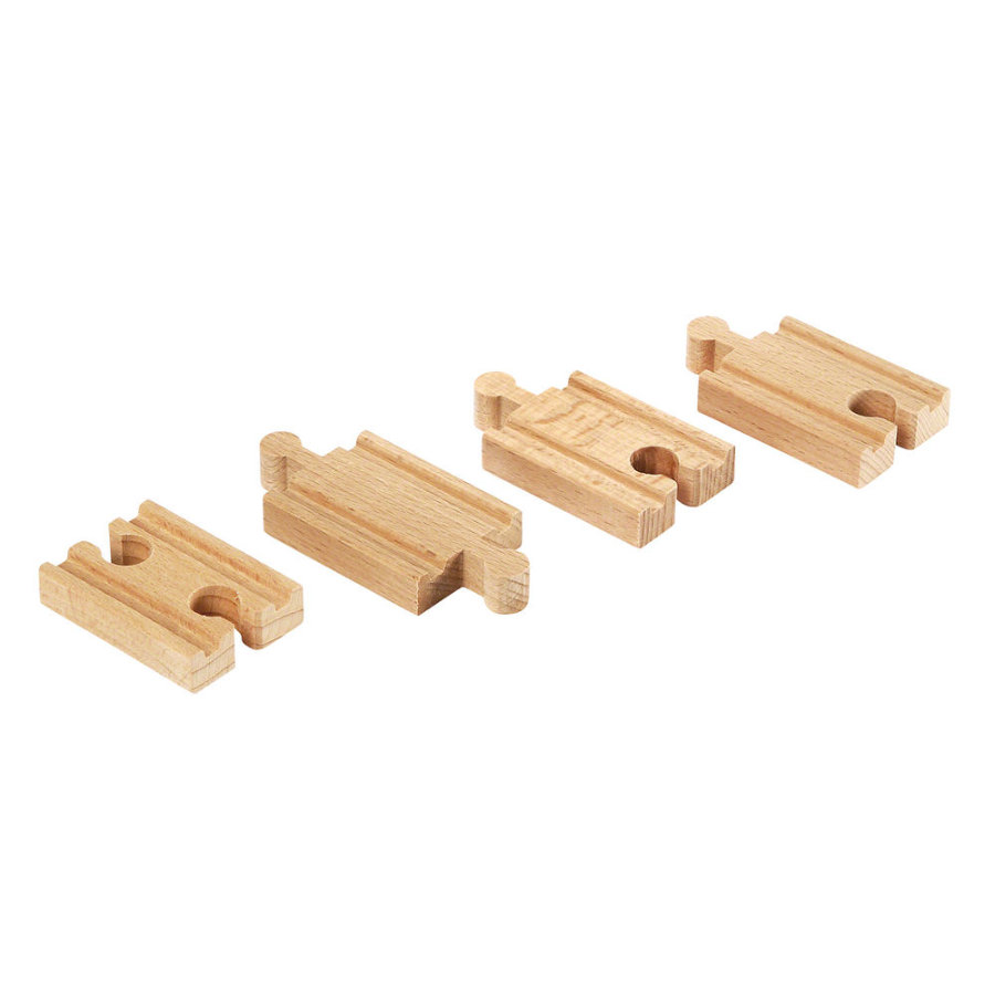 BRIO Mini rails droits (A2, B2, C2)