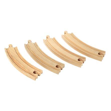 BRIO® WORLD 1/1 bøyde skinner (E) 33342