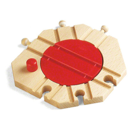 BRIO® WORLD Mechanische Drehscheibe 33361