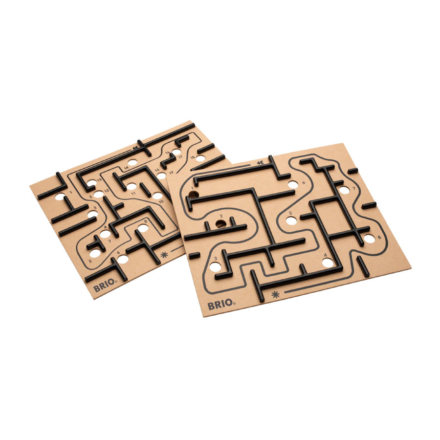 BRIO Labyrintin harjoituslevyt 34030
