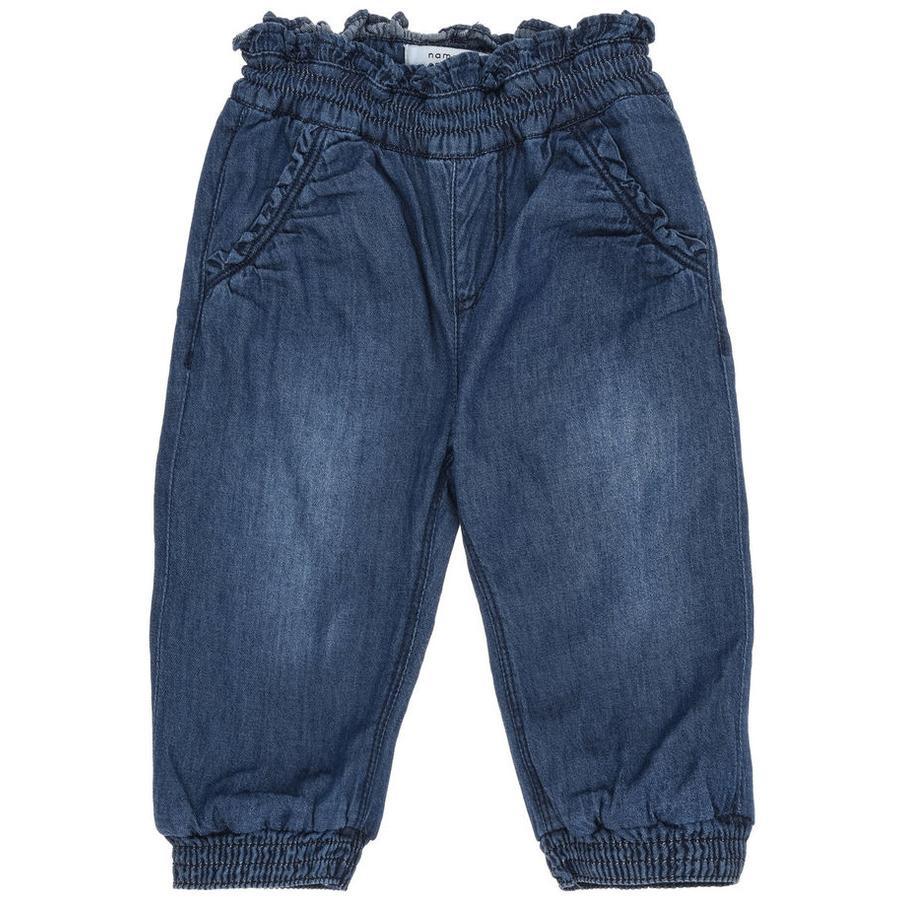 name it Girls Jeans Asta medium blue denim