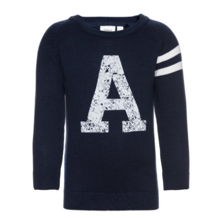 name it Boys Strickpullover Derikson dress blues
