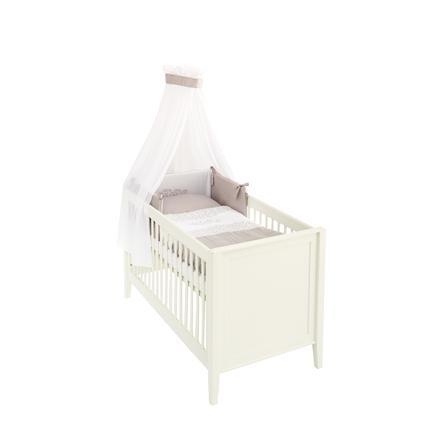 2 tlg Baumwolle Baby Bettwäsche Kinder Bettgarnitur 100x135 cm Ahoi