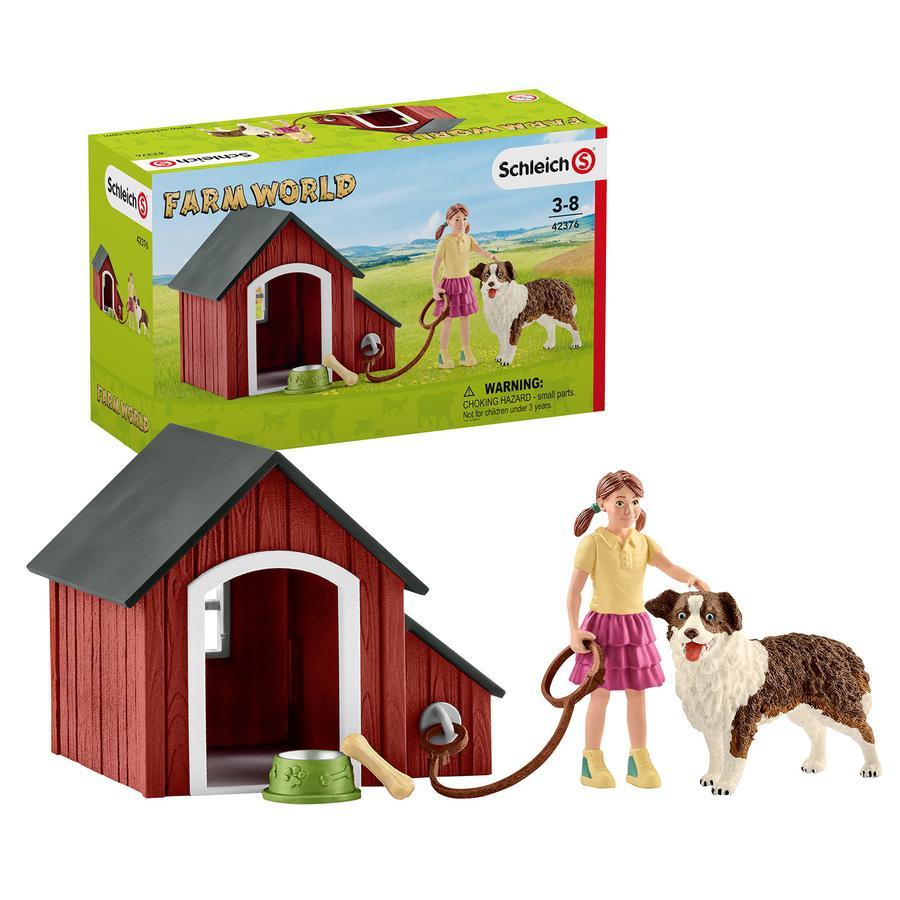 Schleich Figurine niche de chien 42376