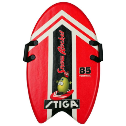 STIGA SPORTS Schaumstoffboard - Snow Rocket Rot