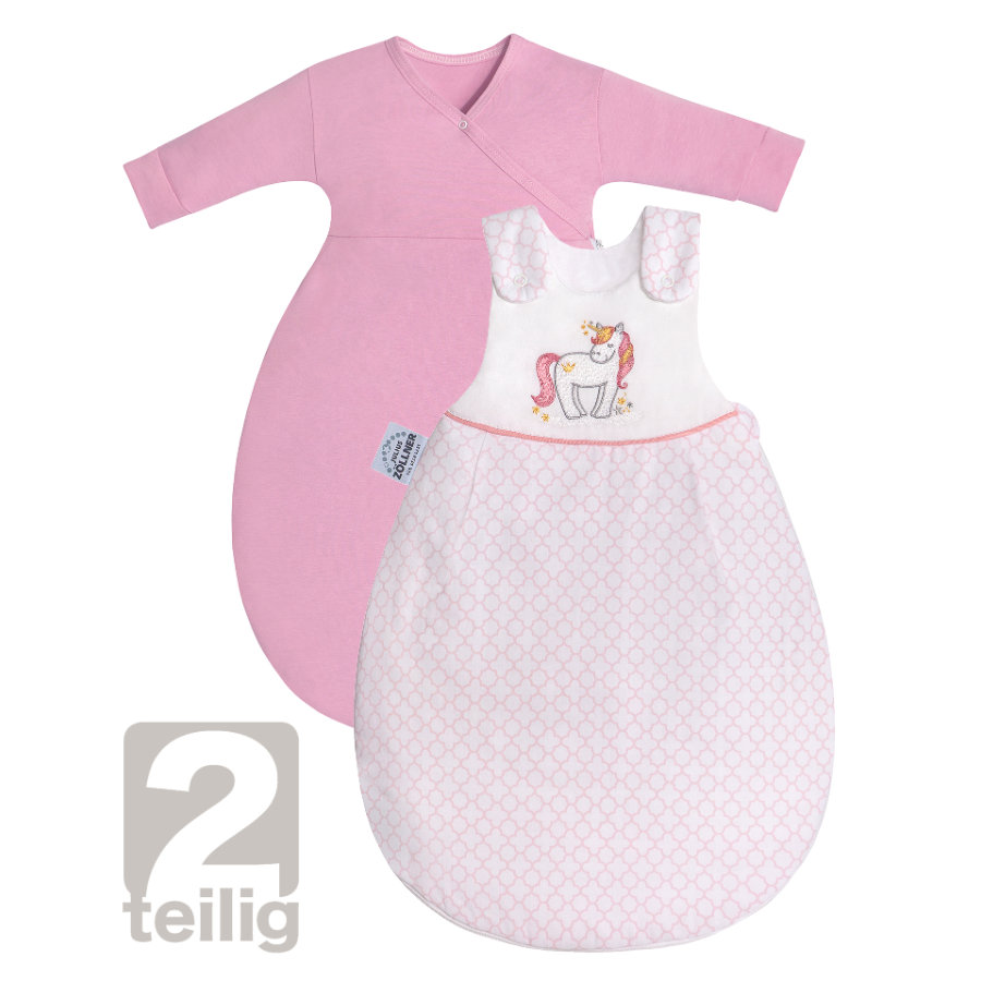 JULIUS ZÖLLNER Schlafsack Cosy Little Unicorn mit Applikationen