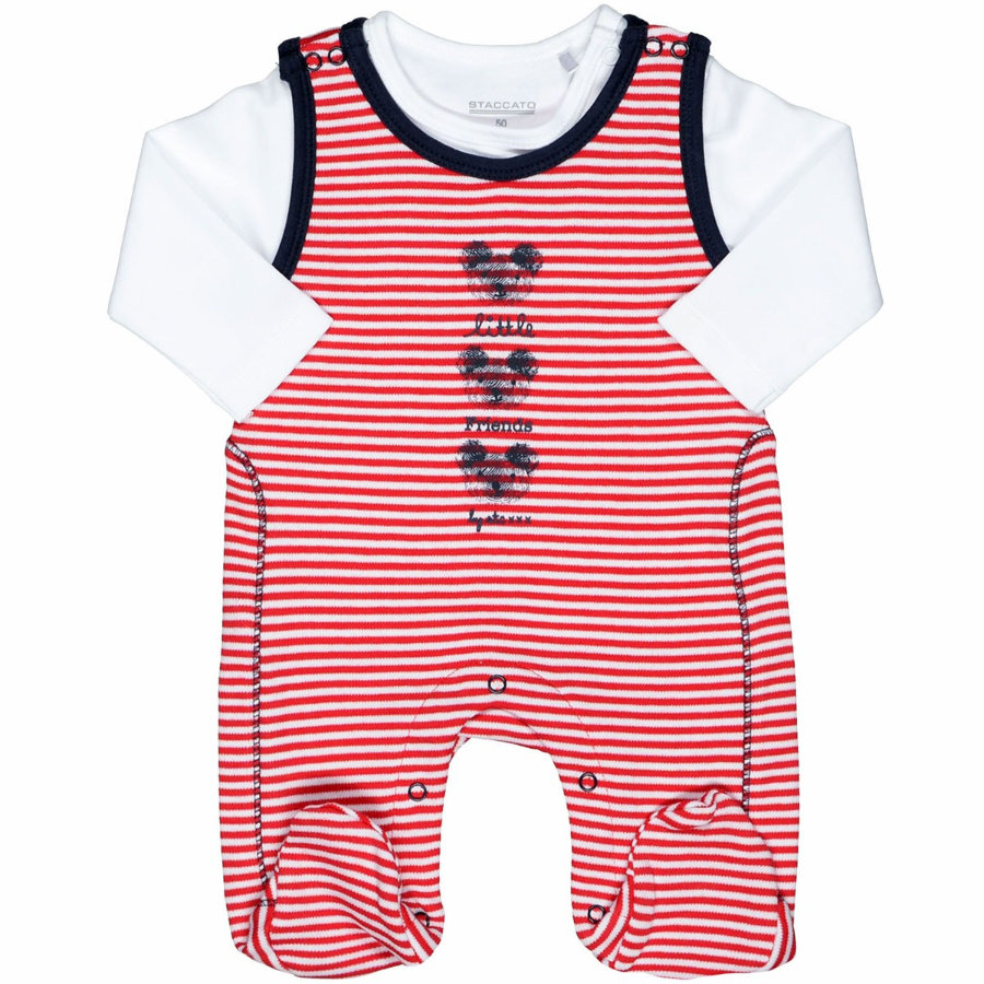 STACCATO Boys Stramplerset red