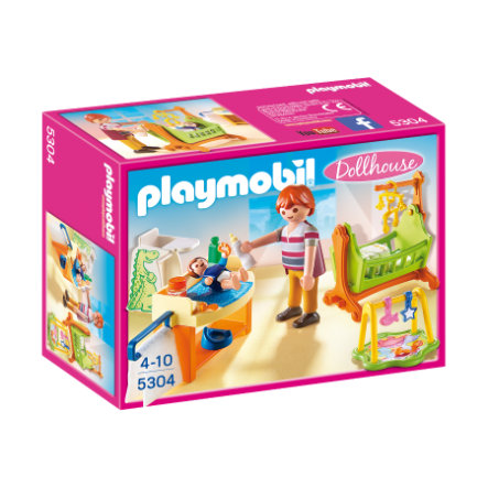 PLAYMOBIL® Dollhouse Babykamer met wieg 5304