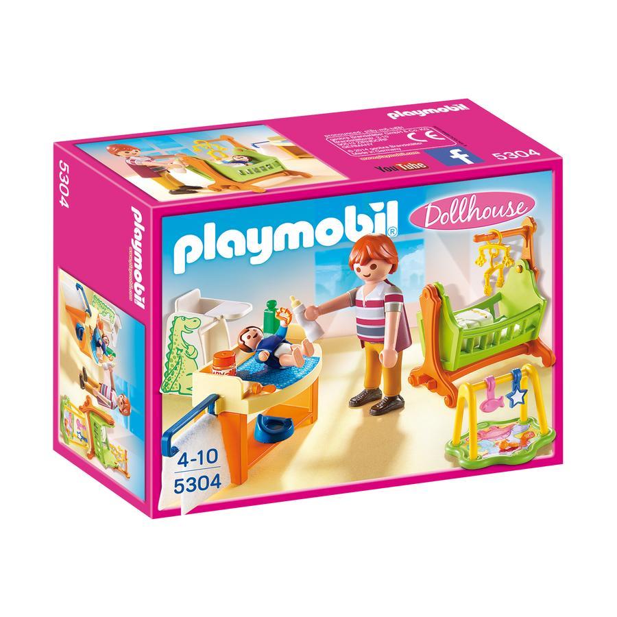PLAYMOBIL® Dollhouse Pokój dziecięcy z kołyską 5304