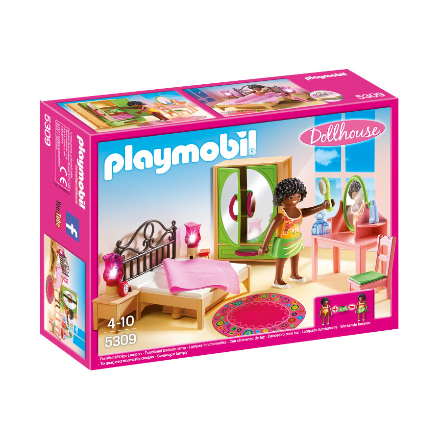PLAYMOBIL® Dollhouse Camera da letto con toletta 5309