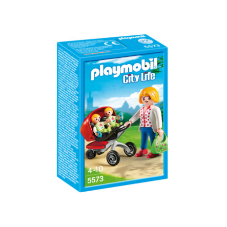 PLAYMOBIL City Life Kaksosrattaat 5573