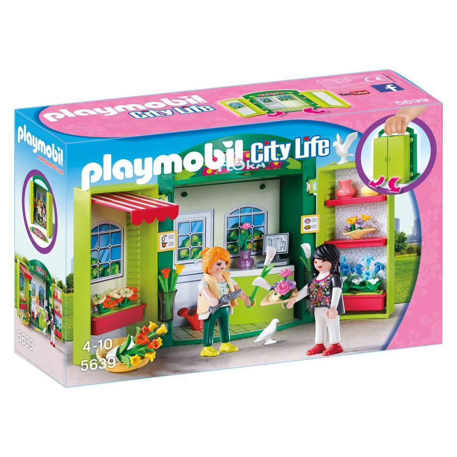 PLAYMOBIL® Boks med Blomsterhandler 5639