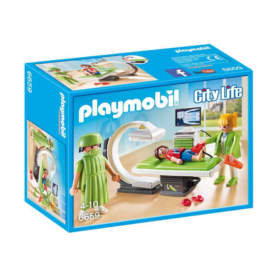 PLAYMOBIL® City Life Sala raggi X 6659