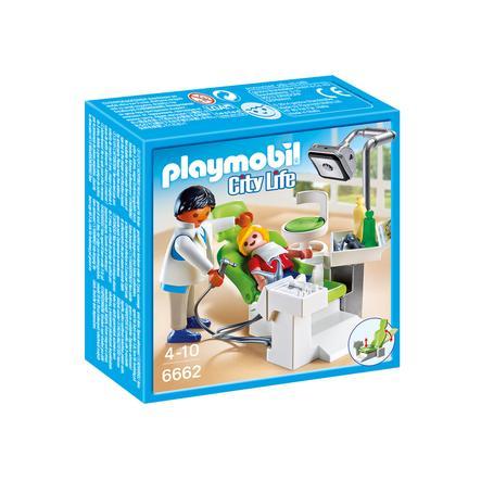 PLAYMOBIL® City Life Cabinet de dentiste 6662